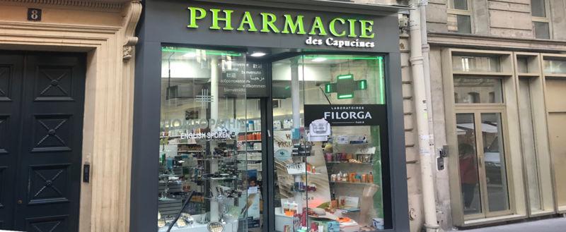 Pharmacie des Capucines, PARIS