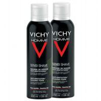 VICHY mousse à raser peau sensible LOT à PARIS