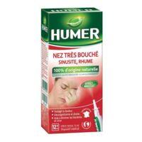 HUMER Nez très bouché, sinusite, rhume à PARIS