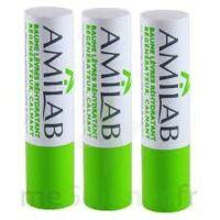 Amilab Baume labial réhydratant et calmant lot de 3 à PARIS