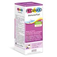 Pédiakid Immuno-Fort Sirop myrtille 125ml à PARIS